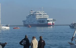 Third Red Funnel ferry collision in less than a month