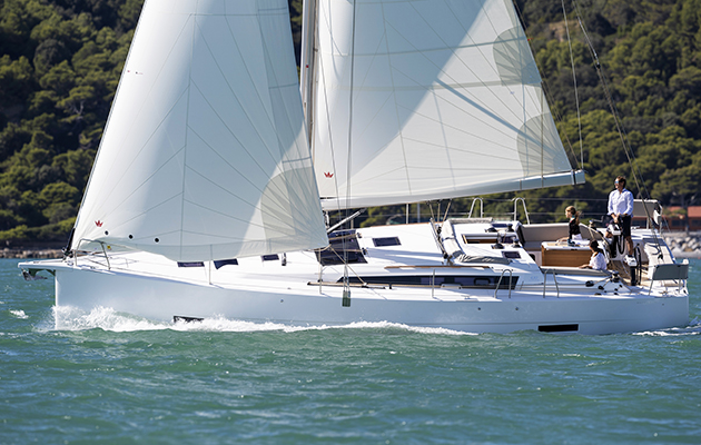 Dufour 430 Grand Large which will be showcased at Boot Düsseldorf