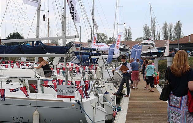 There will be a wide range of new and used boats at the show