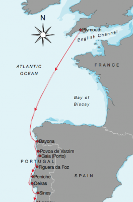 Chart of Biscay