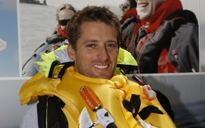 Theo Stocker wears a Crewsaver Ergofit lifejacket