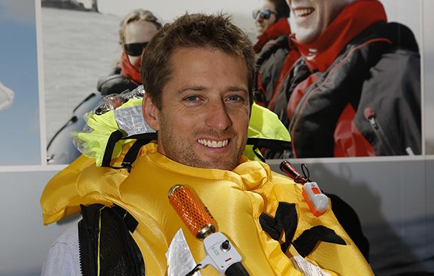 Theo Stocker wears a Crewsaver Ergofit lifejacket