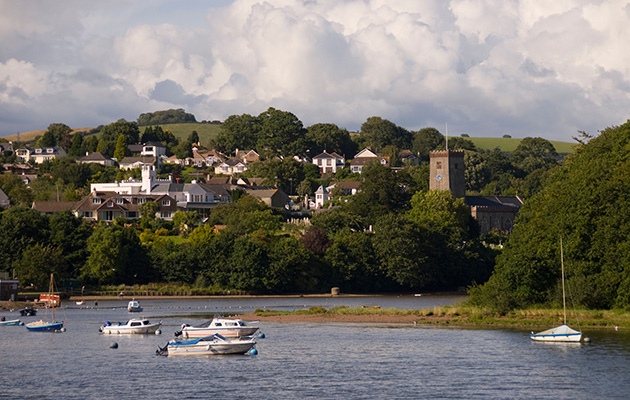 Stoke Gabriel in Devon