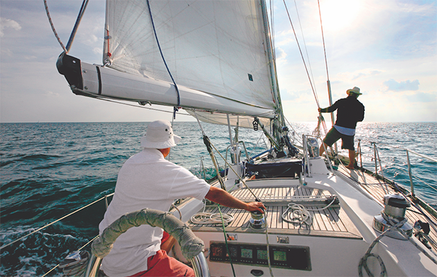 Take the stress out of sailing shorthanded: berthing, anchoring & picking up a buoy