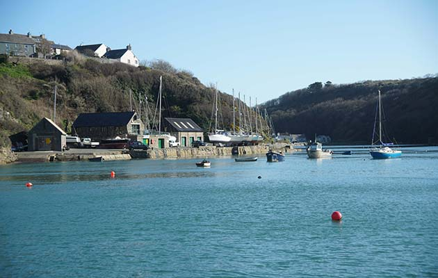 A trip to Solva proved ideal for giving rusty skippers a chance to remember skills that had lain dormant over winter