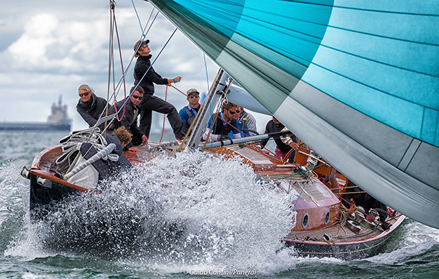 The Spirit 52, Flight of Ufford, won last year's regatta. Credit: Guido Cantini