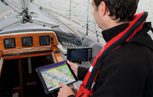 Be aware of the difference between onlien AIS apps and those that can report real-time data from your boat's receiver. Credit: Graham Snook
