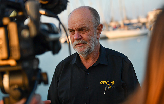 Don McIntyre who is behind the Ocean Globe Race