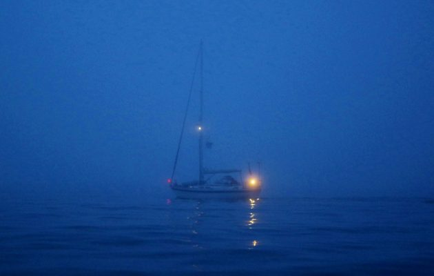 Rounding Cape Wrath in sea fog proved something of an anticlimax