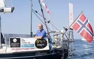 Golden Globe Race entrant Are Wiig