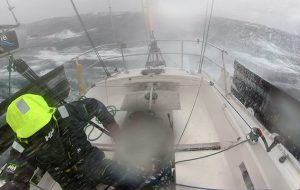 Mark Slats refined his storm tactics during the Golden Globe Race
