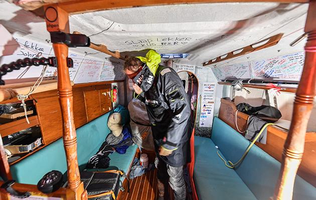 Inside Mark Slat's Rustler 36, Ohpen Maverick