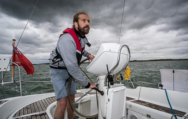 Skipper Toby Heppell