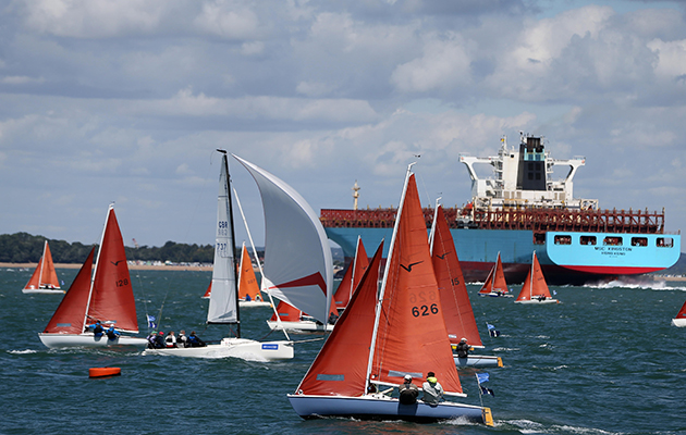 Port gives way to starboard has long been a key rule for sailing boats, but is power giving way still the best option? Credit: Andrew Orchard/Alamy Live News
