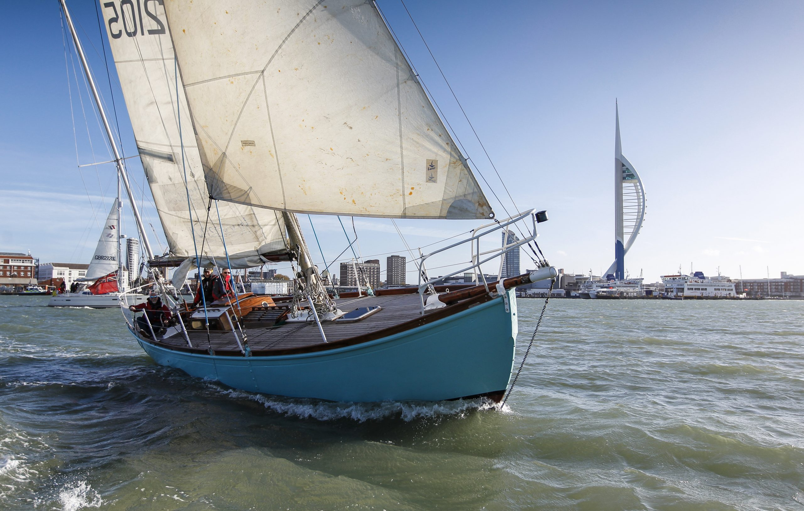 Lively Lady, the ketch Sir Alec Rose sailed around the world
