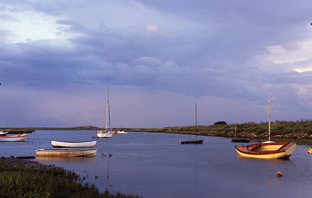 Many creeks are used for mooring, but off the beaten track there is much to discover