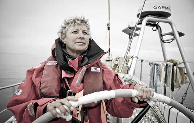 Wendy Tuck has skippered in two Clipper Round the World Races. Credit: Clipper Round the World Race