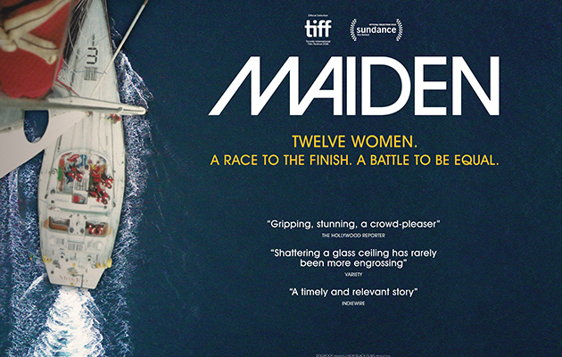 Poster for one of the films of 2019, Maiden