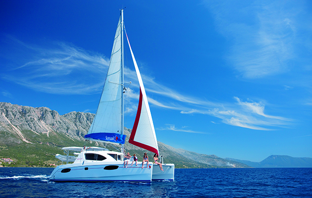 With ample accommodation and sailing on the level, catamarans are an increasingly popular option