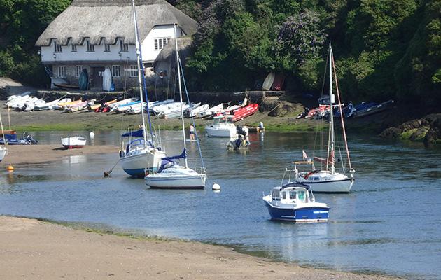 boats on rivers in Devon