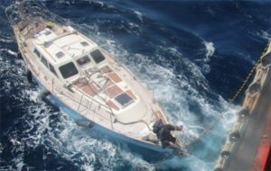 Billy Brannan rescued in the mid Atlantic