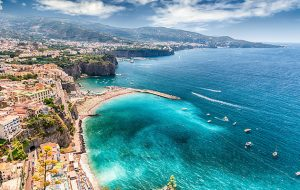 Sorrento in southern Italy