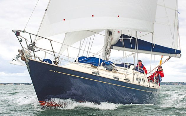 The Vancouver 34 Classic is a proven bluewater cruiser