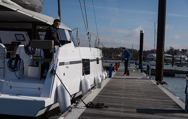 Nautitech 40 Open sur la rivière Hamble