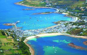 Moving to a new anchorage might be needed if Hugh Town on the Isle of Scilly becomes too swelly