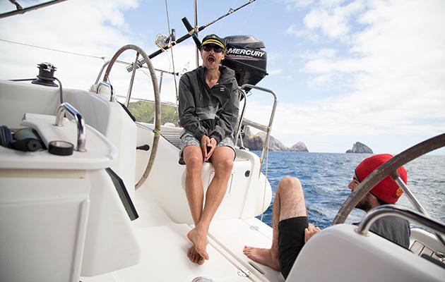 Riley Whitelum de Sailing La Vagabonde