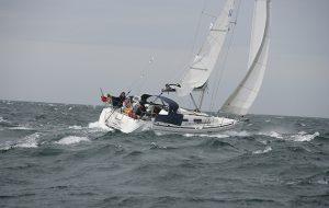 Can you retrieve a fouled anchor in rough sea?