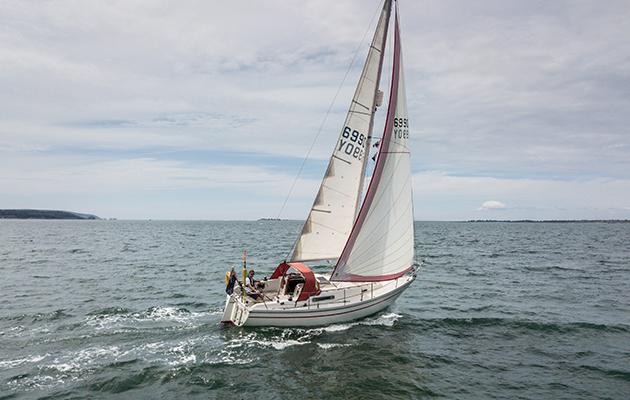 A Sadler 29 on the Solent