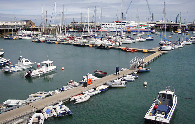 St Peter Port outer harbour