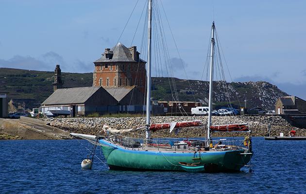 Camaret has visitor moorings fro visiting sailors