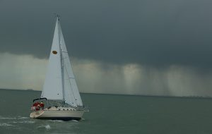 An accurate weather forecast will help you make sound decisions at sea