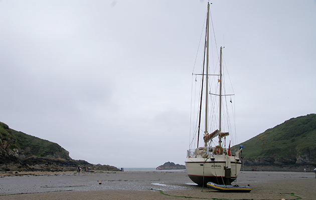 Aurial is now ready for sailing. Credit: Jonty Pearce