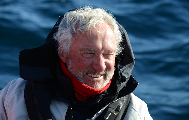 Brian Black spent many seasons cruising the high latitudes. Credit: Brian Black