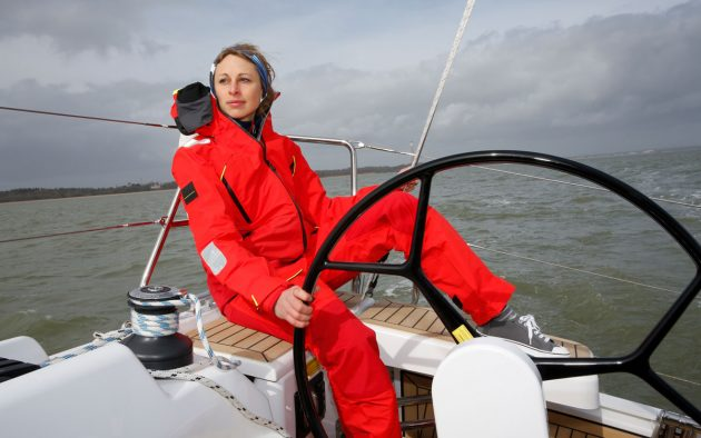 Lightweight and ergonomic, the Helly Hansen suit was extremely comfortable © Graham Snook Photography