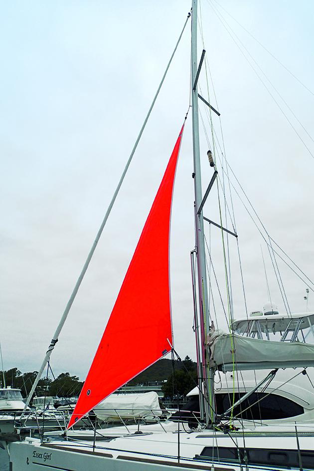 Un travail de tempête sur un yacht