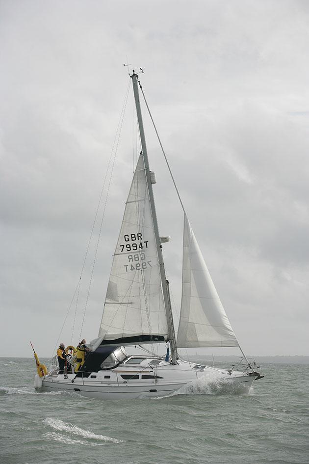 Un récifec Jeanneau SO 37