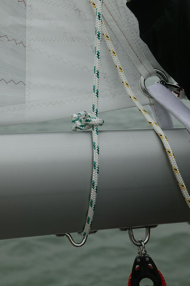 Un curseur de flèche qui peut empêcher les lignes de ris de glisser
