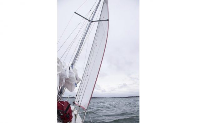 If your main halyard jammed, would you be confident to sail a long passage with  just a headsail?Credit: David Harding