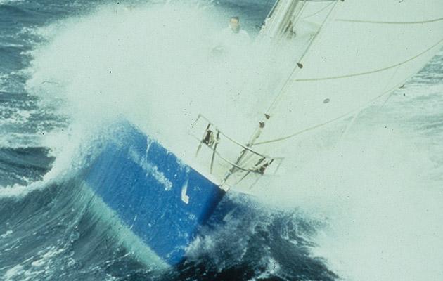 Yacht British Steel Challenge skippé par Pete Goss