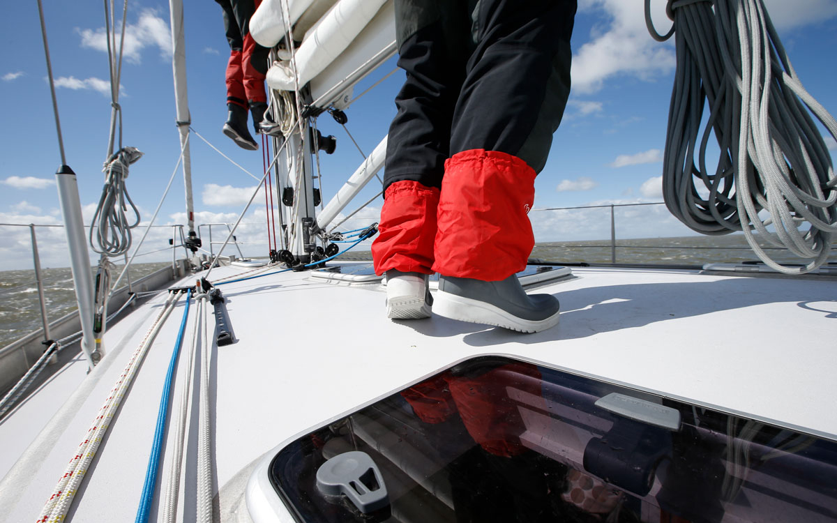 Sailing boot group test