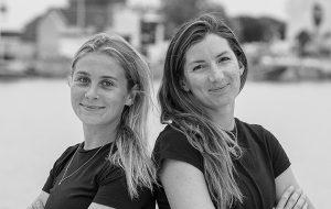 All-female doublehanded Round Ireland record attempt underway