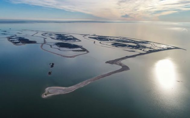 Only the largest island at Marker Wadden, Haveneiland, is open to visiting yachts. Credit: Peter Leenen - Straystone