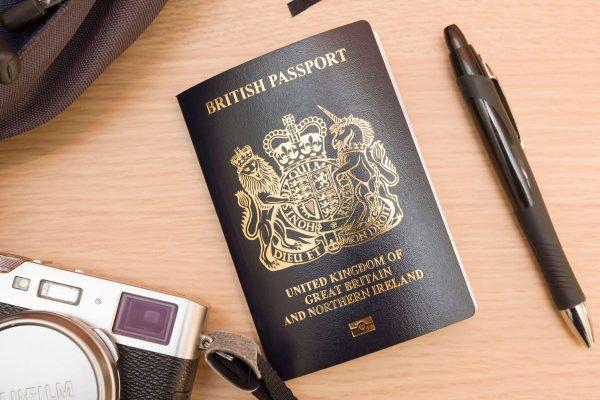 UK post-Brexit blue passport