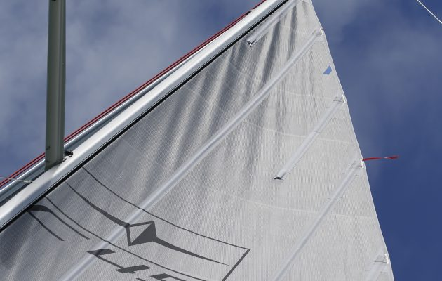 Batten on a furling mainsail system
