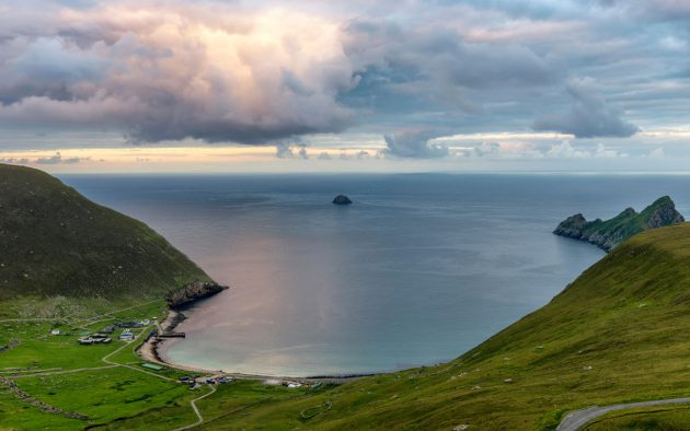Striking out into the north Atlantic is daunting, but the rewards of anchoring off St Kilda make it a prize worth the effort Credit: Richard Burdon / Alamy Stock Photo