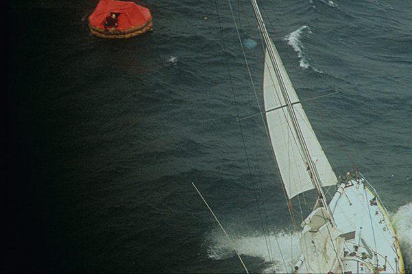 Vendée Globe skipper Pete Goss rescues fellow skipper Raphael Dinelli